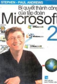 Bí quyết thành công của tập đoàn Microsoft