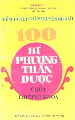 Điểm Huyệt Chân Truyền Đồ Giải - 100 Bí Phương Thần Dược Chữa Thương Khoa