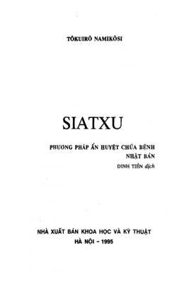 Ấn Huyệt Nhật Bản Siatxu