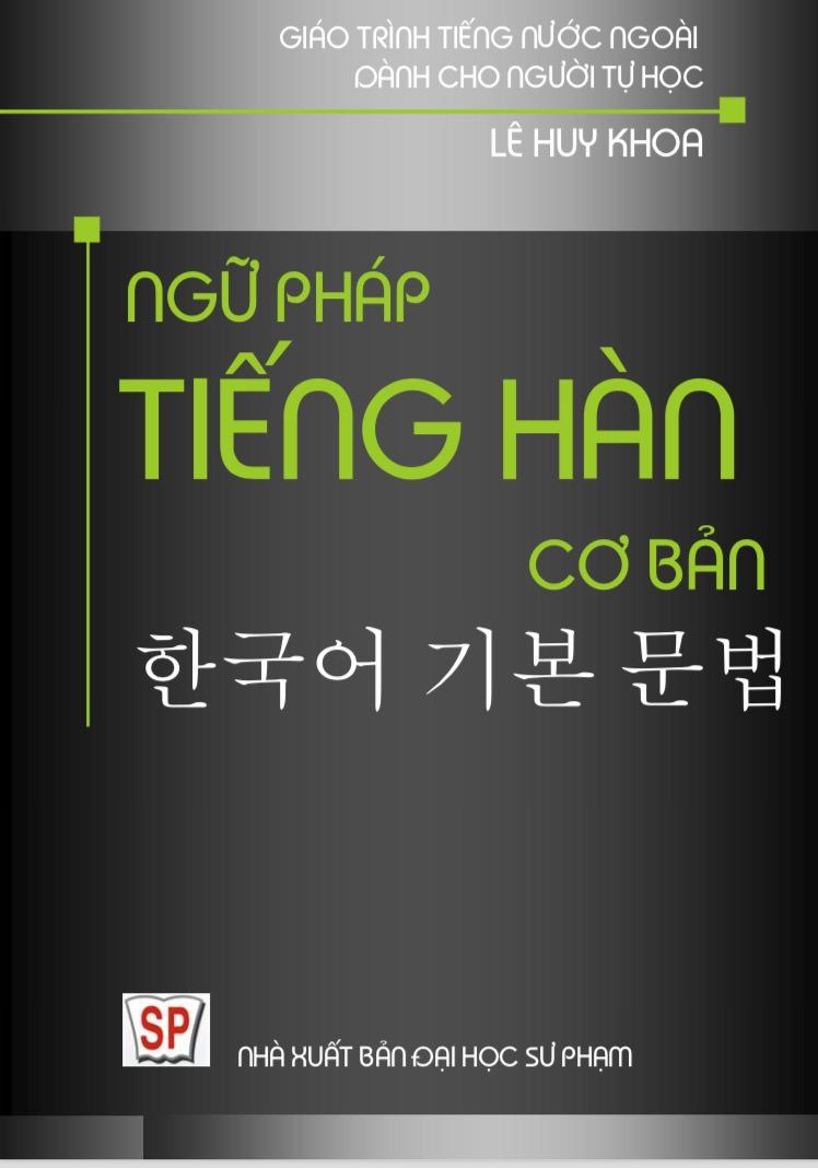 Ngữ Pháp Tiếng Hàn Cơ Bản
