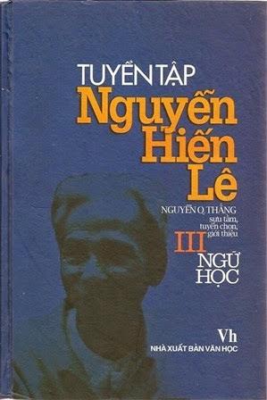 Tuyển Tập Nguyễn Hiến Lê - Tập 3 : Ngữ Học
