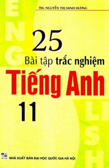 25 Bài Tập Trắc Nghiệm Tiếng Anh 11