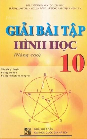 Giải Bài Tập Hình Học 10 (Nâng Cao)